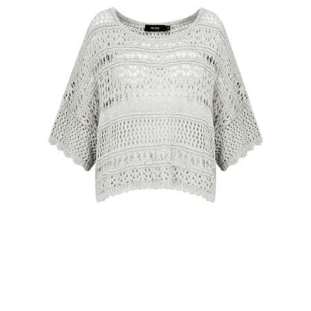 Myrine Edel Linen Look Cropped Knit - Beige
