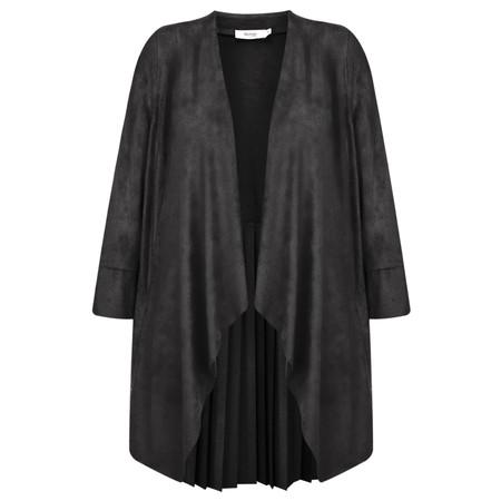 Myrine Iris Faux Suede Jacket - Grey