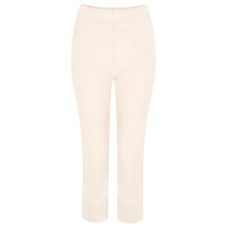 Myrine Buttercup Cropped Trousers - Beige