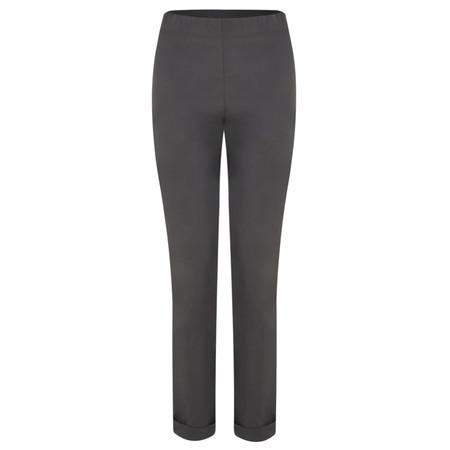 Myrine Bieslo Comfort Cotton Trousers - Grey