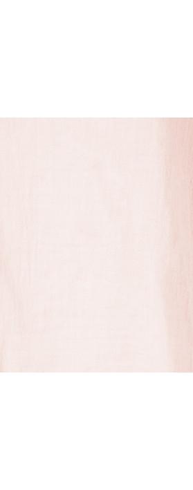 TOC Billie Linen Mix Easy Fit Top Pale Pink