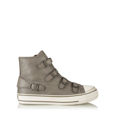 Ash Virgin Classic Buckle Trainer Shoe - Beige