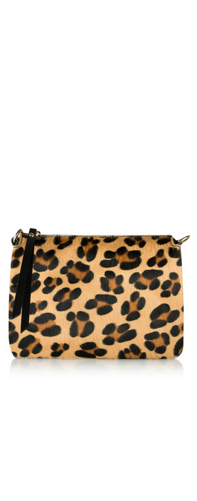 Gemini Label Bags Palau Cross Body Bag Leopard