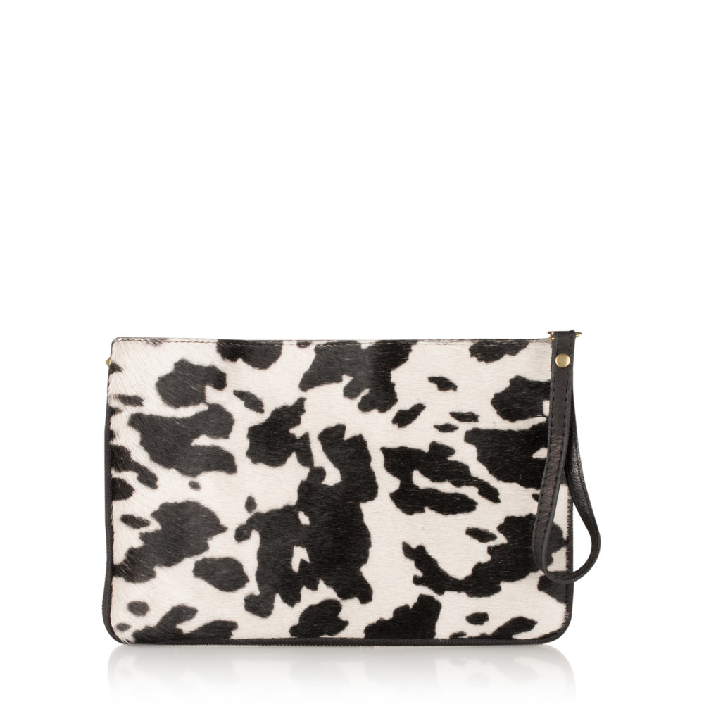 Gemini Label Bags Paola Animali Clutch Cow