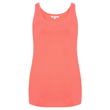 Sandwich Clothing Organic Cotton Vest Top - Pink