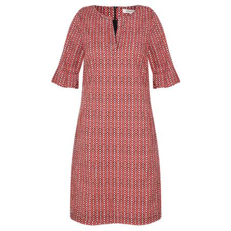 Sandwich Clothing Herringbone Woven Dress - Pink