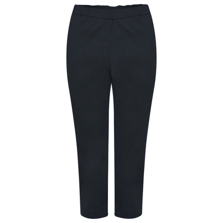 Masai Clothing Peach Capri Trousers - Blue