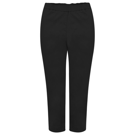 Masai Clothing Peach Capri Trousers - Black