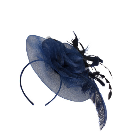 Jewelcity Helena Fascinator - Blue