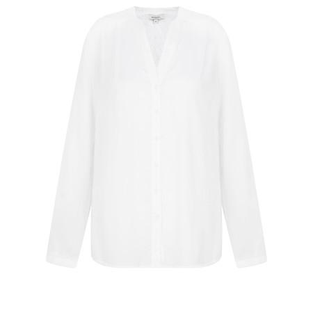 Sandwich Clothing Long Sleeve Aztec detail Blouse - White