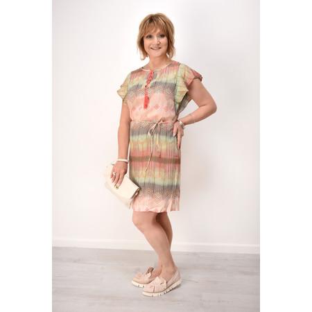 Sandwich Clothing Woven Dress - Pink