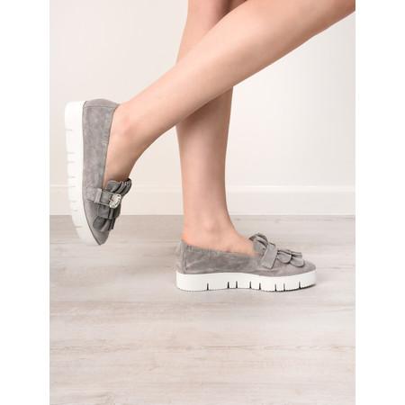Kennel Und Schmenger Pia XXL Crystal Ruffle Shoe - Grey