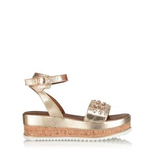 INUOVO Asya Cork Platform Sandal