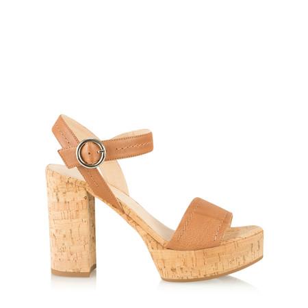 Unisa Shoes Voros Platform Sandal - Brown