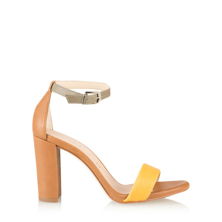 Unisa Shoes Waile Ankle Strap Sandal - Brown