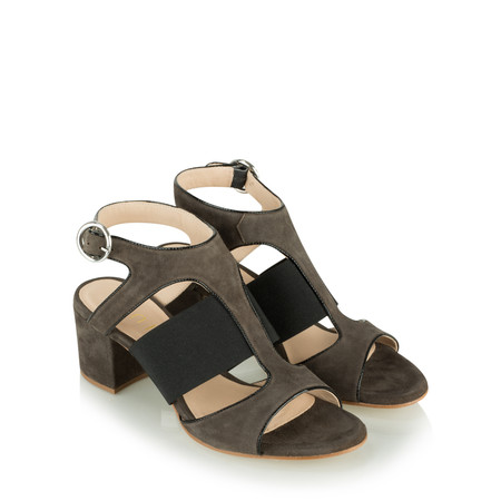 Unisa Shoes Orli Cut Out Shoe  - Brown