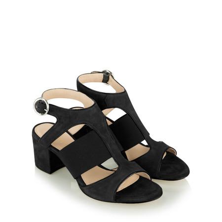 Unisa Shoes Orli Cut Out Shoe  - Black