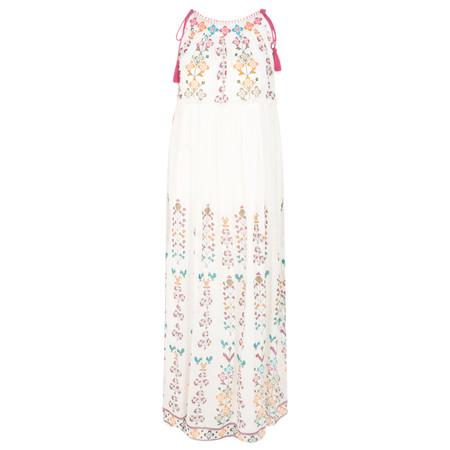 Lara Ethnics Colombia Woodstock Singlet Dress - Multicoloured