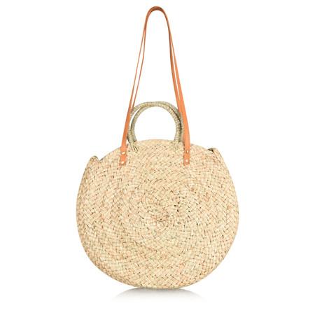 Betsy & Floss Bali Round Bag - Brown