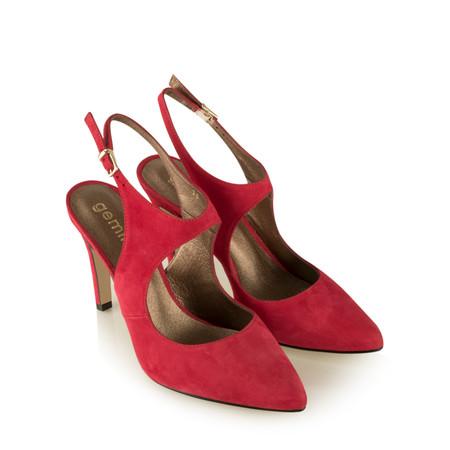 Gemini Label Mesalla Suede Shoe - Red