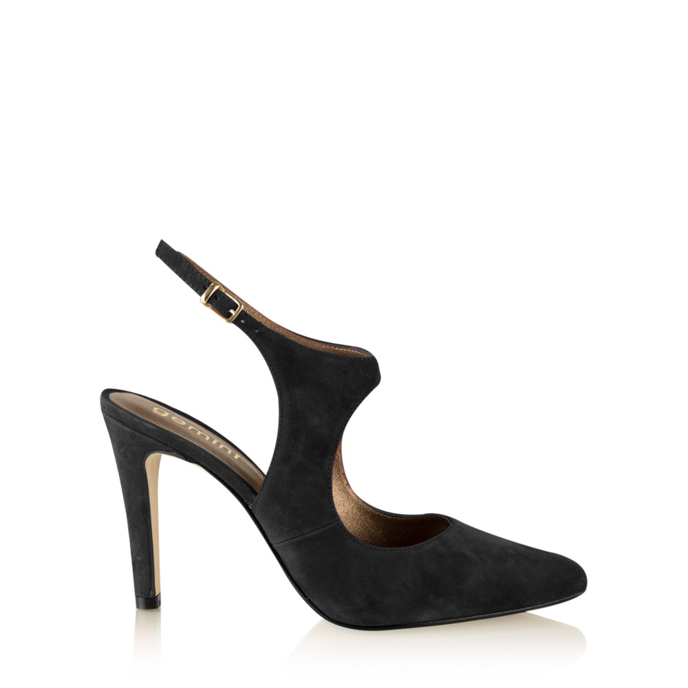 Gemini Label Shoes Mesalla Suede Shoe Black