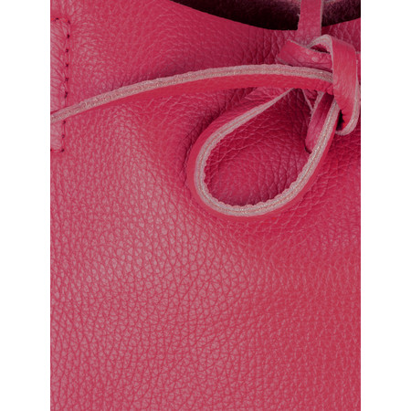 Gemini by PWA  Ribera Leather Tote Bag  - Pink