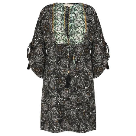 Lara Ethnics Sobi Tunic Dress - Black