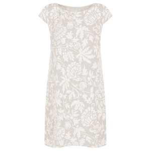 TOC  Dahlia Printed Linen Dress