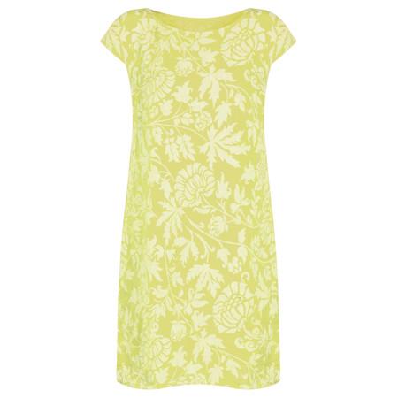 TOC  Dahlia Printed Linen Dress - Green