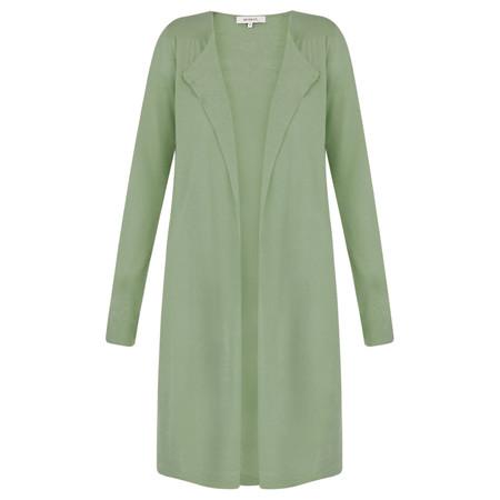 Sandwich Clothing Long Sleeve Linen Mix Cardigan - Green
