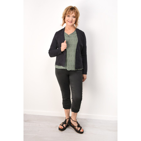 Sandwich Clothing Easy Fit Linen Jacket - Black