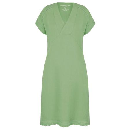 Sandwich Clothing Summer Linen Dress - Green