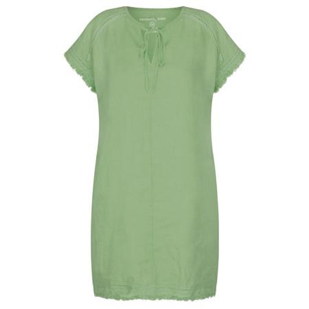Sandwich Clothing Summer Linen Tunic - Green