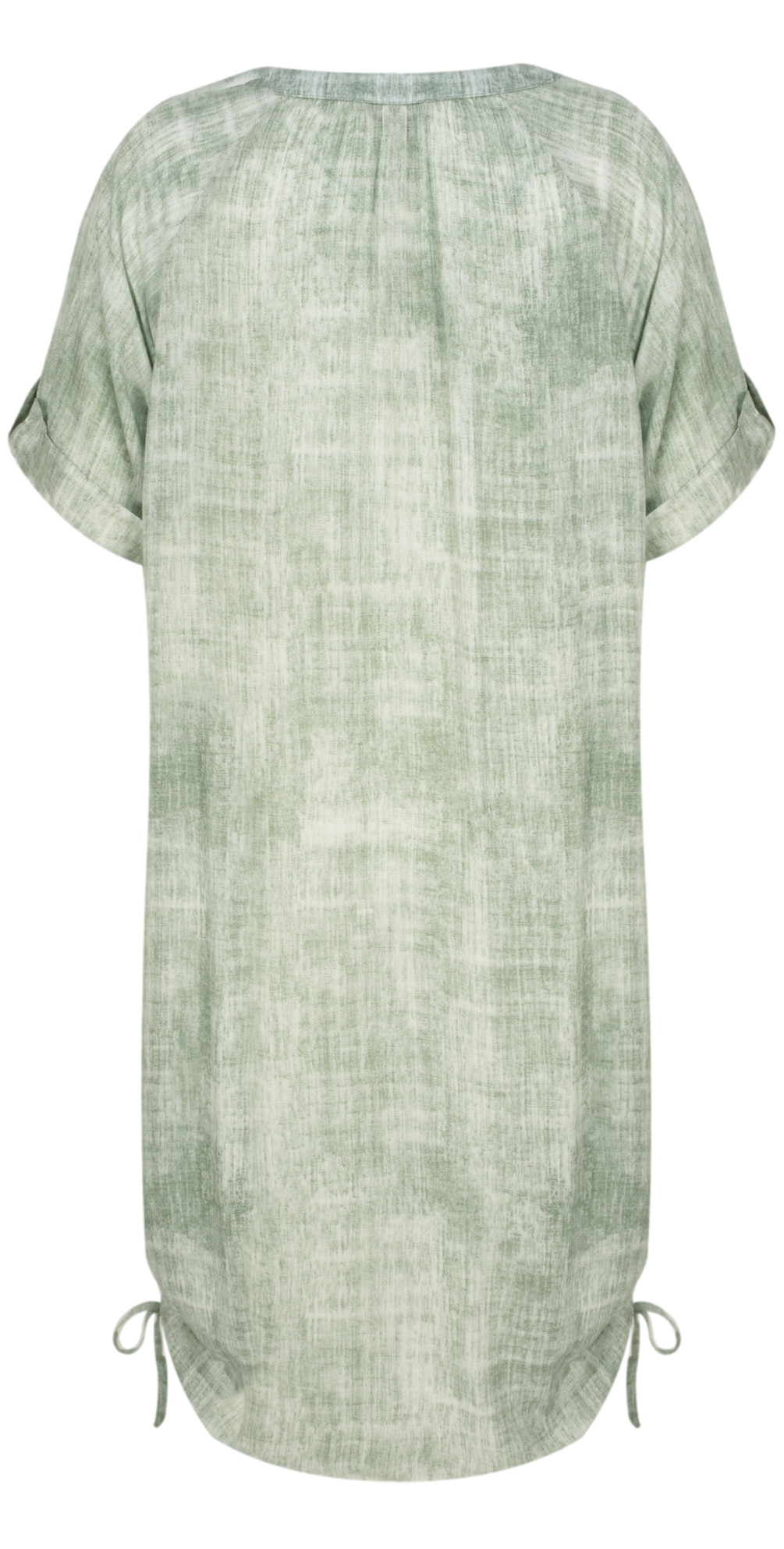 e06f98bef50 Sandwich Clothing Washed out Tunic Blouse in Hedge Green
