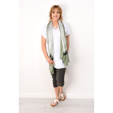 Sandwich Clothing Summer Linen Tunic - White