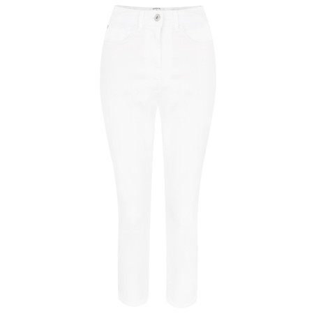 Sandwich Clothing Casual Cropped Trousers - White