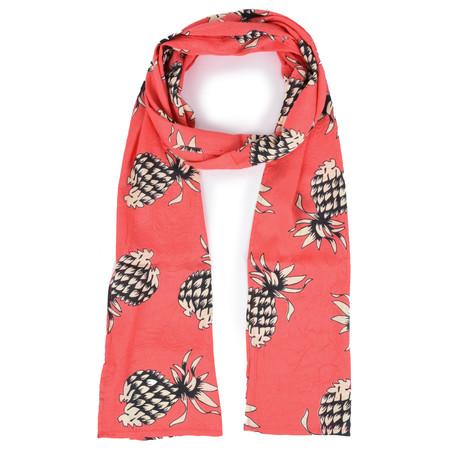Masai Clothing Pineapple Along Scarf - Pink