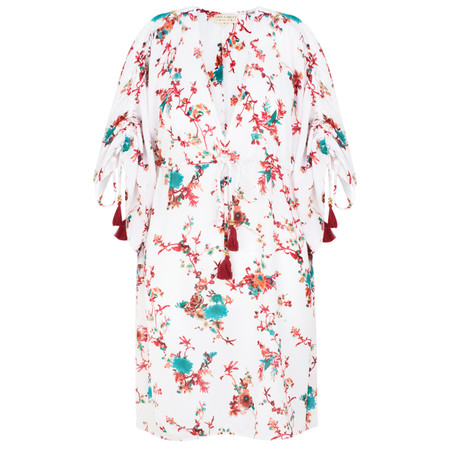 Lara Ethnics Sobi Tunic Dress - White