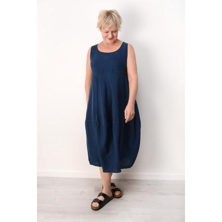 Grizas Lara Linen Dress - Blue