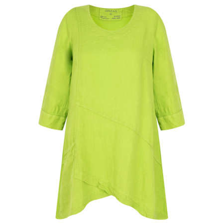 Grizas Petra Linen Tunic - Green