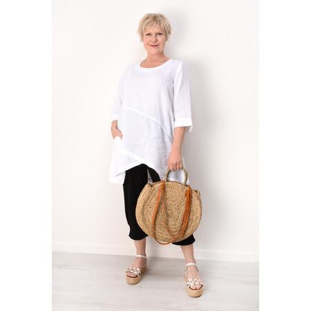Grizas Petra Linen Tunic - White