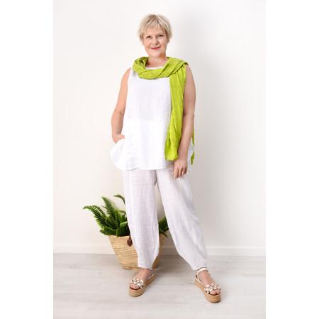 Grizas Diana Linen Top - White