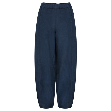 Grizas Sara Linen Easyfit Trouser - Blue