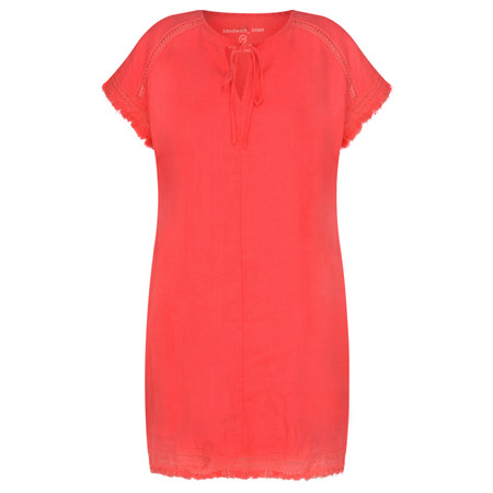 Sandwich Clothing Summer Linen Tunic - Pink