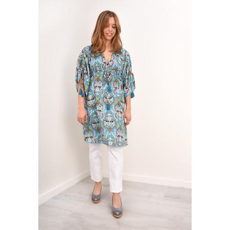 Lara Ethnics Sobi Tunic Dress - Turquoise