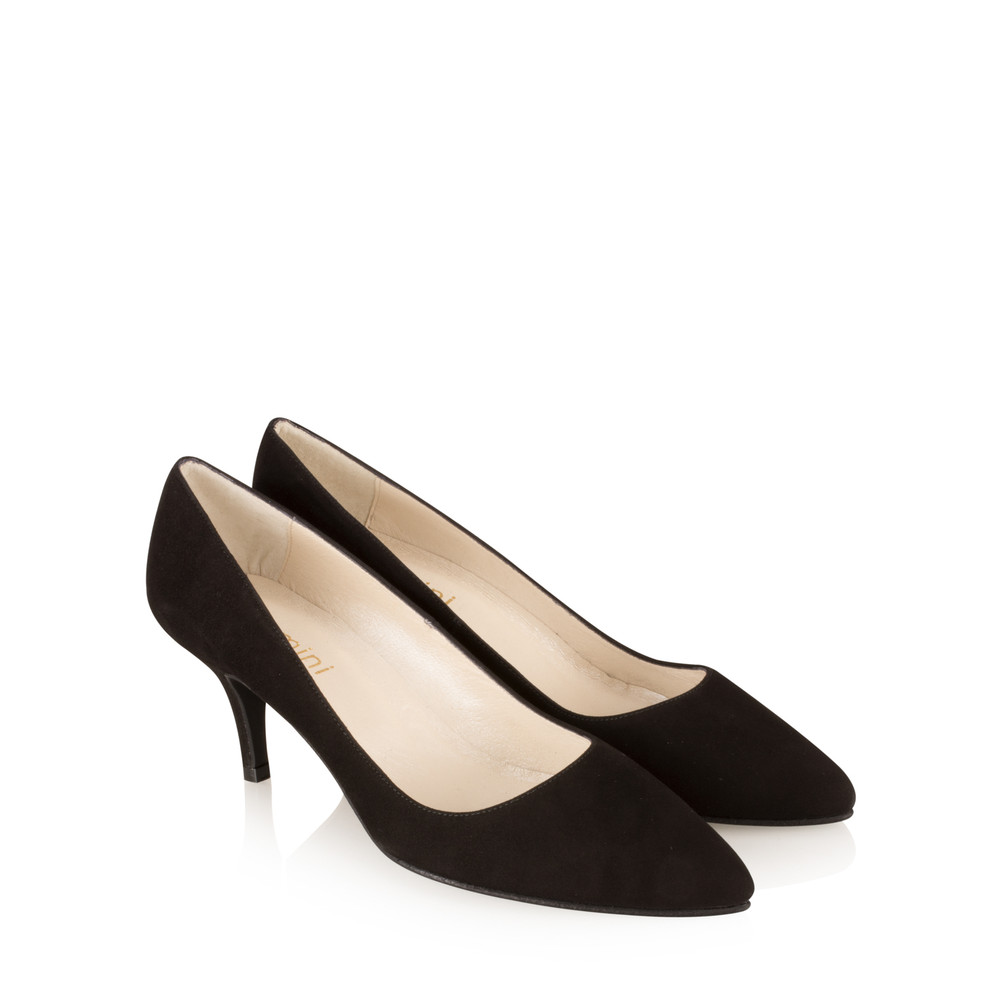 Gemini Label Shoes Isa KH Suede Shoe Black