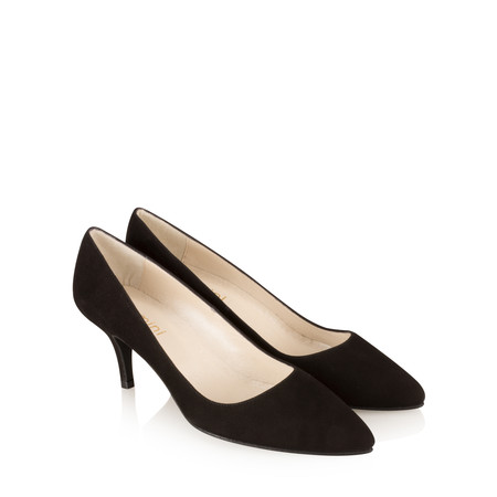 Gemini Label Shoes Isa KH Suede Shoe - Black