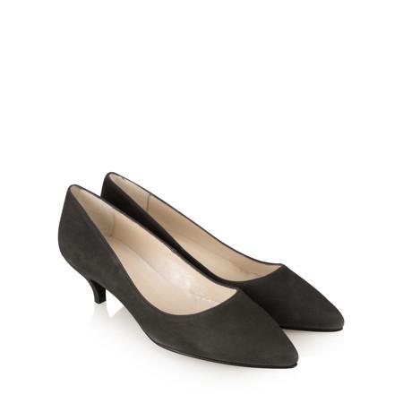 Gemini Label  Daila Kitten Heel Shoe - Grey