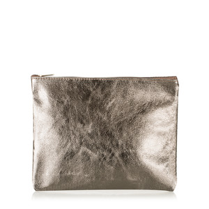 Gemini Label  Cosmo Metallic Leather Bag