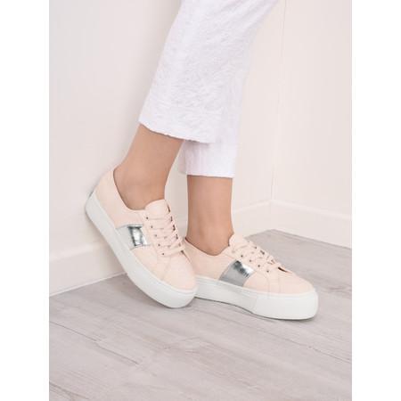 Superga Maia Flatform Trainer Shoe  - Pink
